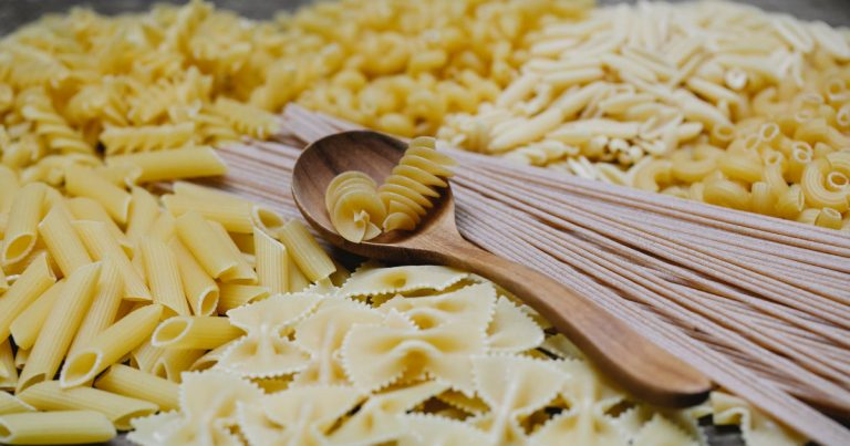 Types of pasta noodles
