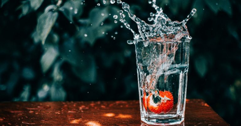 Tips to remind myself to drink water