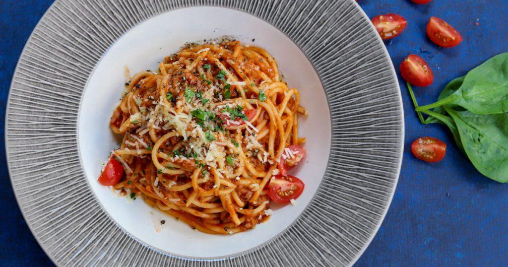 tomato pasta vegan