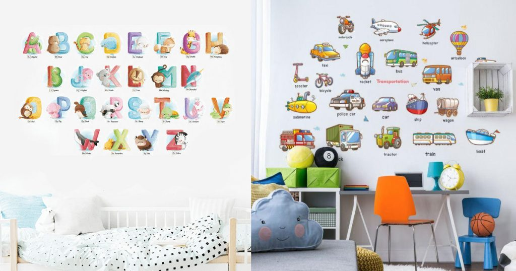 educational wall decals