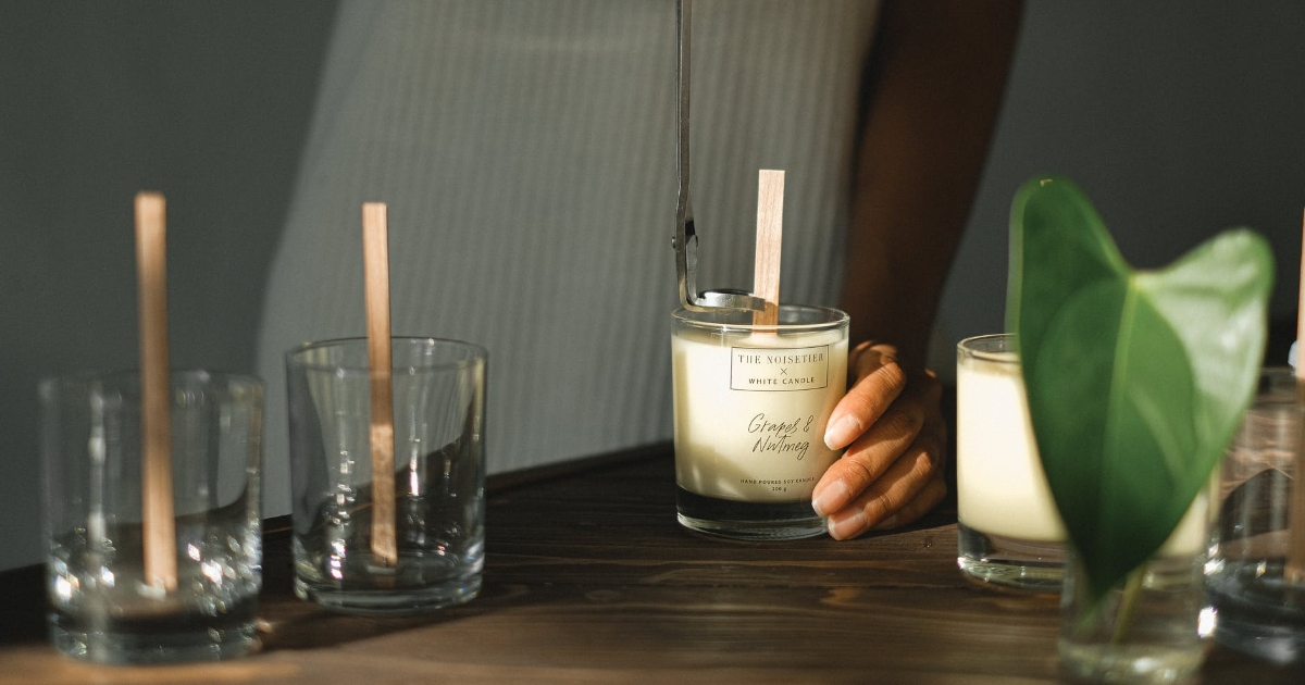 diy creating your own candle